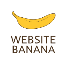 website banana logo web